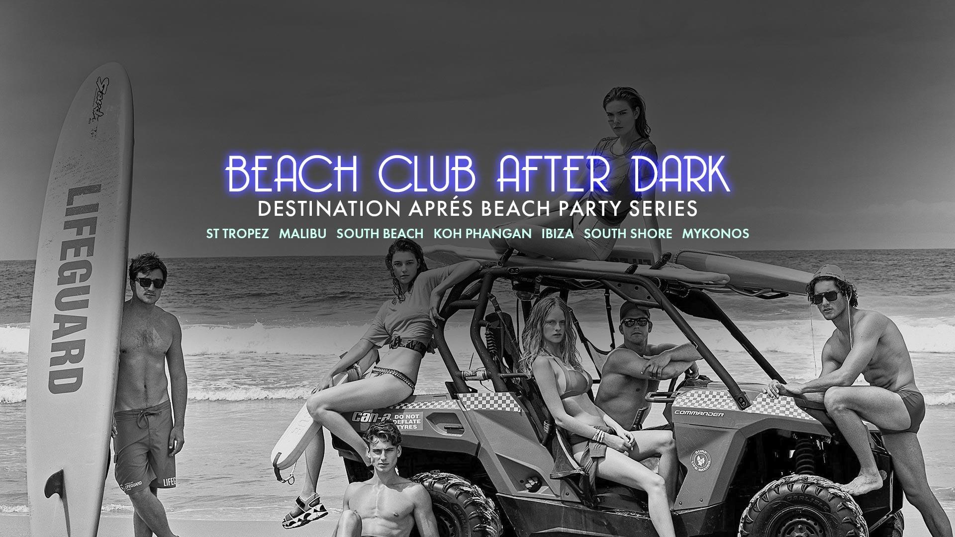 Beach Club After Dark The Fifth Social Club Party Malibu The Fifth